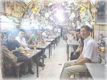 В мужской части кафе, Исфахан