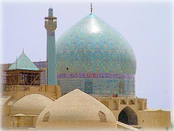 Купола Большой мечети, Исфахан