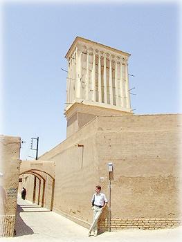 Старый город и ветровая башня, Йезд