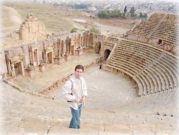 Театр в Джераше