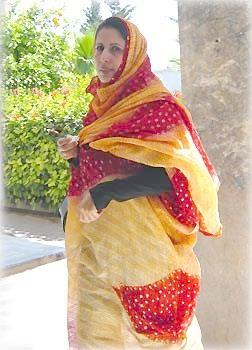 Берберская женщина в Марракеше