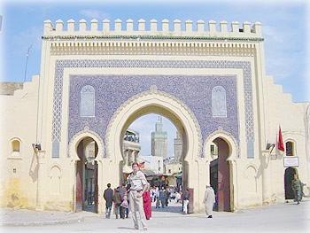 Ворота старого Феса