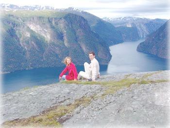 Над фьордом, Норвегия