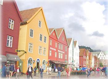 Берген, старый город