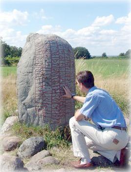 Рунический камень, Эланд, Швеция