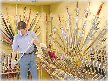 Оружие на любой вкус в Толедо