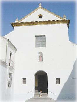 Ослепительные дома на синем фоне, Андалусия