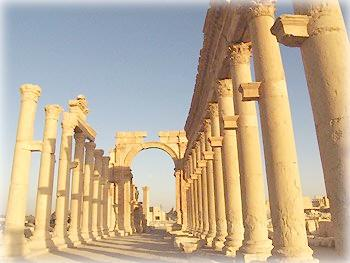 Пальмира, Большая Колоннада