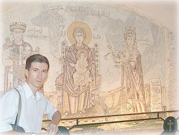 Мозаика в церкви Сеиднаи